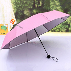 21 Inch Lady Mini 3 Folding Umbrella pictures & photos