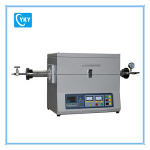 Laboratory 1200c High Temperature Vacuum Tube Furnace Cy-O1200-50IC pictures & photos