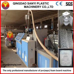 Twin Conical Screw Extruder, Plastic Extruder with CE Certified pictures & photos