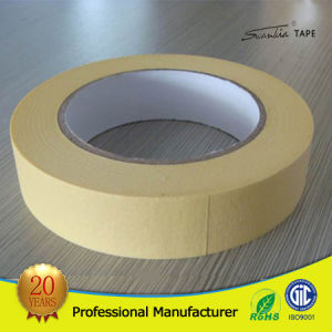 High Quality No Residue Car Painting Paper Masking Tape pictures & photos