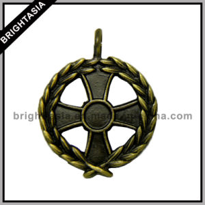 Small Antique Brass Plating Medal for Decoration (BYH-10716) pictures & photos
