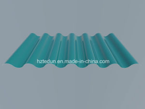 Metal Corrugated Panel for Facades (water blue5021) pictures & photos