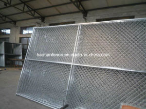 Chain Link Portable Fence with Cross Bar pictures & photos