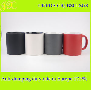 Manufacturer Supply 20oz Color Glazed Ceramic Mug for Europe Market