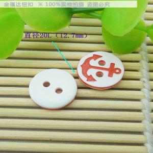 20L Diameter 12.5mmlovely Polyester Children Button (C-09)