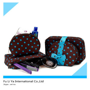 Polka DOT Women Cosmetic Bags (FLY-CB072) pictures & photos
