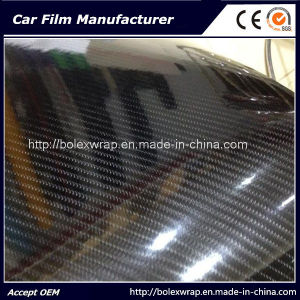 High Glossy Auto Carbon Fiber Wrap Vinyl Film 5D Carbon Fiber Wrap pictures & photos