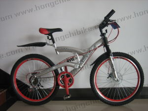"""26""""Alloy Frame MTB Bike High Bumper Suspension Bicycle for Dirt Road City Bike (HC-MTB-82709) pictures & photos"""