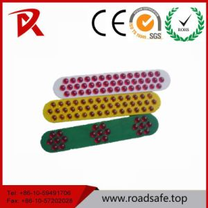 Security Reflective Road Reflector Lens 43 Glass Beads pictures & photos