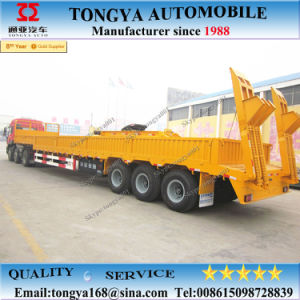 2017 Heavy Duty 60tons Low Bed Semi Trailer pictures & photos