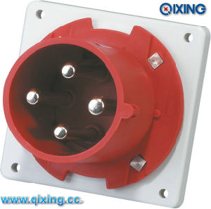 IP44 Flange Inlet for Industry Application with Industrial Application (QX1982) pictures & photos