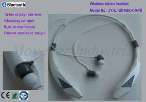 10 Hours Talking Neck Band Design Wireless Stereo Headset pictures & photos