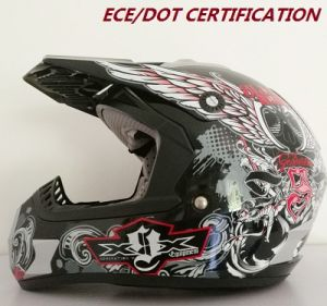 Fashion Design High Quality Motorcross Helmets, ATV Helmets ECE/DOT Certification pictures & photos