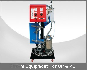 Rtm Wet out and Injection Equipment for up & Ve