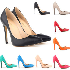 Popular Leather/Suede Women Shoe