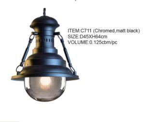 Good Quality Chromed, Matt Black Hanging Pendant Lighting (C711(chromed, matt black)) pictures & photos