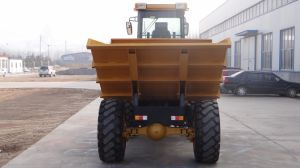 7ton 4WD Chinese Dumper Truck for Sale pictures & photos