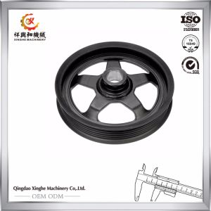 Customized Ductile Iron Pulley Wheel Train Wheels for Auto Parts pictures & photos