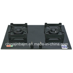 2 Burner Tempered Glass Black Color Built-in Hob pictures & photos