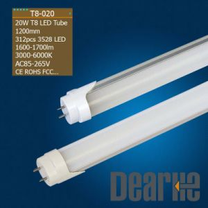 CE, RoHS, UL LED Tube Light T8 (1200mm/20W)