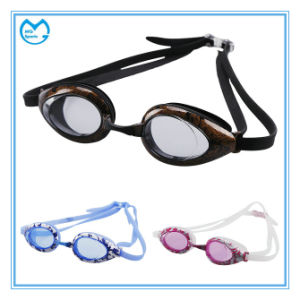 Most Comfortable Anti Slip Silicone Prescription Swimming Glasses pictures & photos