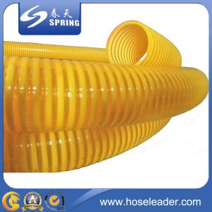 PVC Reinforced Spiral Heavy Duty Suction Hose with Good Quality pictures & photos