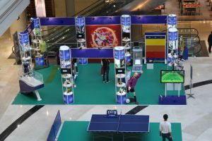 Hot Sale Reusable Advertising Exhibition Booth pictures & photos