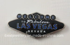 Promtional Gift-Souvenirs Fridge Magnet with Las Vegas Logo pictures & photos