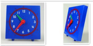 Plastic Demonstrate Clock Toys, School Supply, Learning Toys pictures & photos