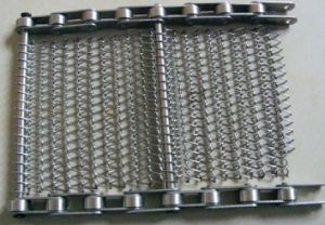 Cleated Conveyor Belt Stainless Steel / 304ss Wiremesh Conveyor (XM-433) pictures & photos