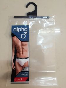 Printed Ziplock Bags with Hanger for Underwear (FLH-8705) pictures & photos