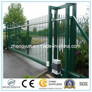 Automatic Wrought Iron Sliding Opener Gates pictures & photos