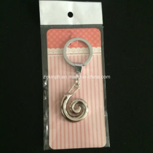 Customized 3D Snail Shape Metal Keychain pictures & photos