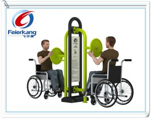 Outdoor Playground Handicapped Grm Park Fitness Equipment for Disabled pictures & photos