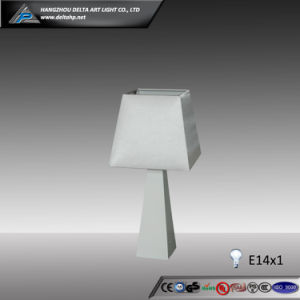 Fabric Table Light with Triangle Wooden Base (C5007147-1) pictures & photos