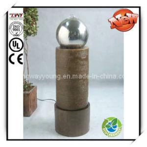 29 Inches Fiberglass Floor Fountain for Garden & Home (YF2320B-29H-LD58)