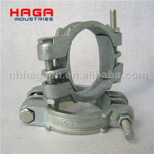 Heavy Duty Carbon Steel Double Bolt Clamp pictures & photos