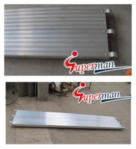 Aluminium Plank Used for Frame Scaffolding pictures & photos
