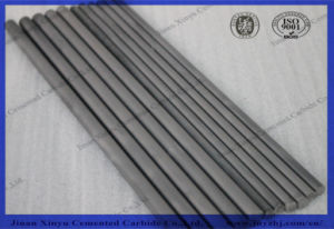 Low Price Cemented Tungsten Carbide Rods, Ground and Blank Solid Tungsten Carbide Rod Bars pictures & photos