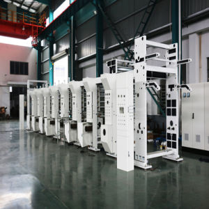 High Quality Roto Gravure Printing Machine, Flexographic Printing Machine