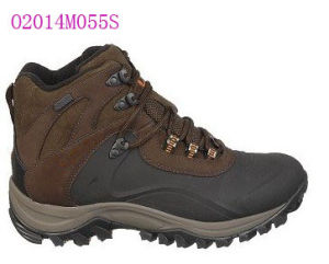 Sheepskin Leather Hiking Shoes pictures & photos