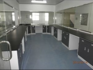 Steel Creamic Worktop Lab Furniture for Laboratory pictures & photos