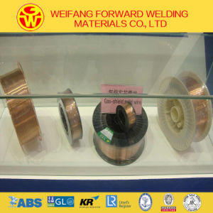 0.9mm Er70s-6 CO2 Copper Coated MIG Welding Wire of Golden Bridge Quality ISO9001 pictures & photos