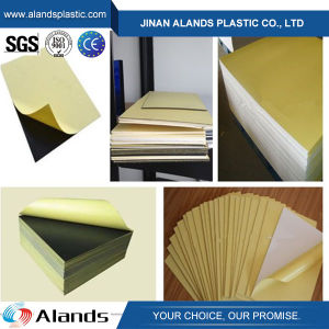 Yellow Paper PVC Photo Album Sheet Rigid Board pictures & photos