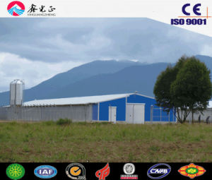 Prefab Poultry House/Professional Steel Structure Prefab Chicken House (JW-16239) pictures & photos