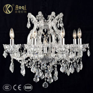 Crystal Chandelier Lamp (AQ50038-8+1) pictures & photos