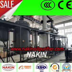 Vacuum Waste Oil Distillation Plant, Oil Recycling Refinery Plant pictures & photos