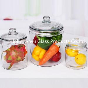 Airtight Candy Jar/Mason Jar/Candle Jar/ Glass Storage Jar with Clip/Clamp/Locking Lid pictures & photos