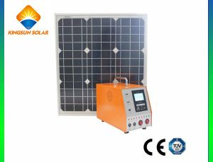 30W New Style DC Portable Solar Power System pictures & photos