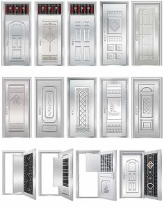 304 Stainless Steel Metal Doors pictures & photos